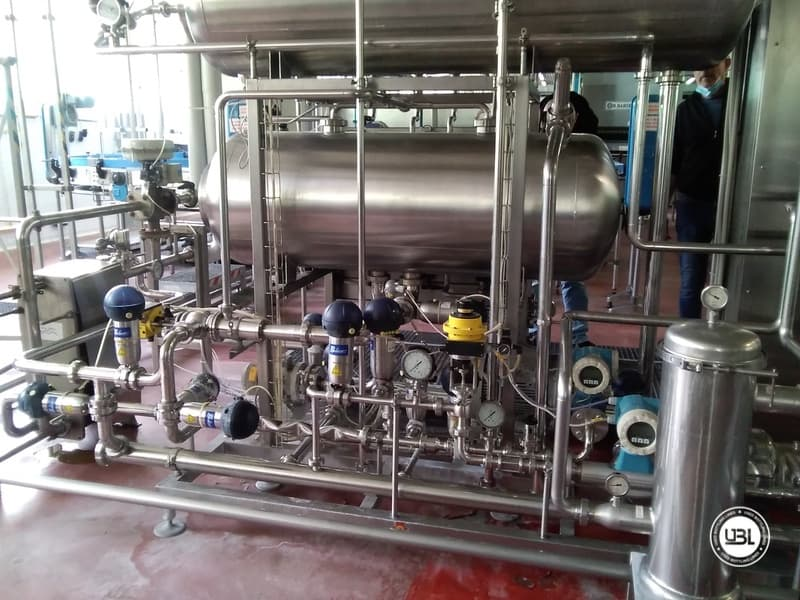 Used Complete Water Line for Returnable Glass up to 17.000 bph - 20