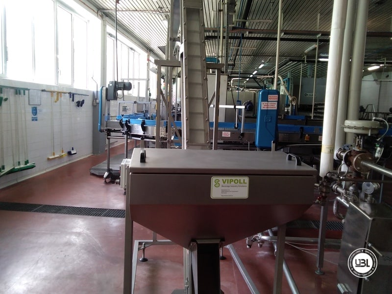 Used Complete Water Line for Returnable Glass up to 17.000 bph - 21