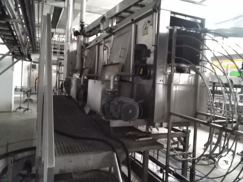 Used Complete Water Line for Returnable Glass up to 17.000 bph - 7