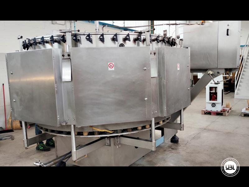 Used Isobaric Filling Machine Bertolaso Suprema 48 valves Sparkling Wine up to 9000 bph - 6