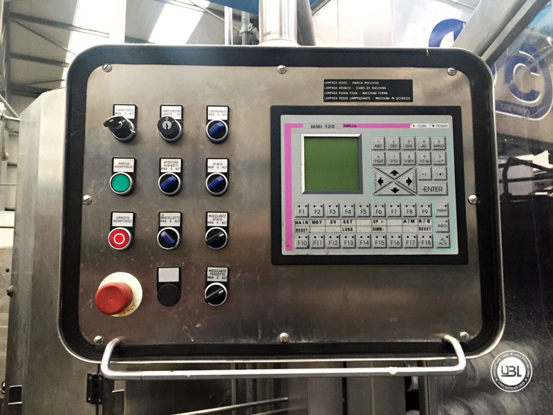 Used Bottling Isobaric Filling Triblock BC MASTERBLOCK 42-50-10 PET Glass up to 7000 bph - 10