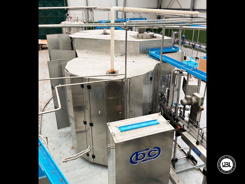 Used Bottling Isobaric Filling Triblock BC MASTERBLOCK 42-50-10 PET Glass up to 7000 bph - 2
