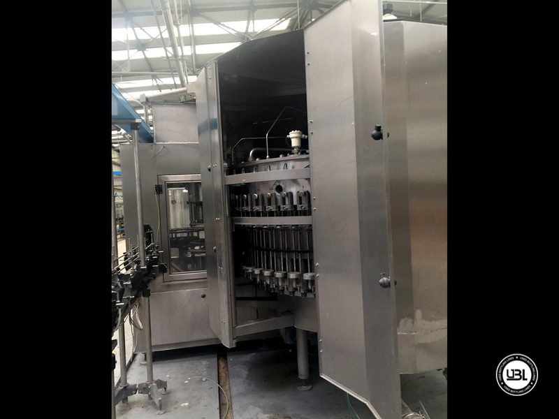 Used Bottling Isobaric Filling Triblock BC MASTERBLOCK 42-50-10 PET Glass up to 7000 bph - 6
