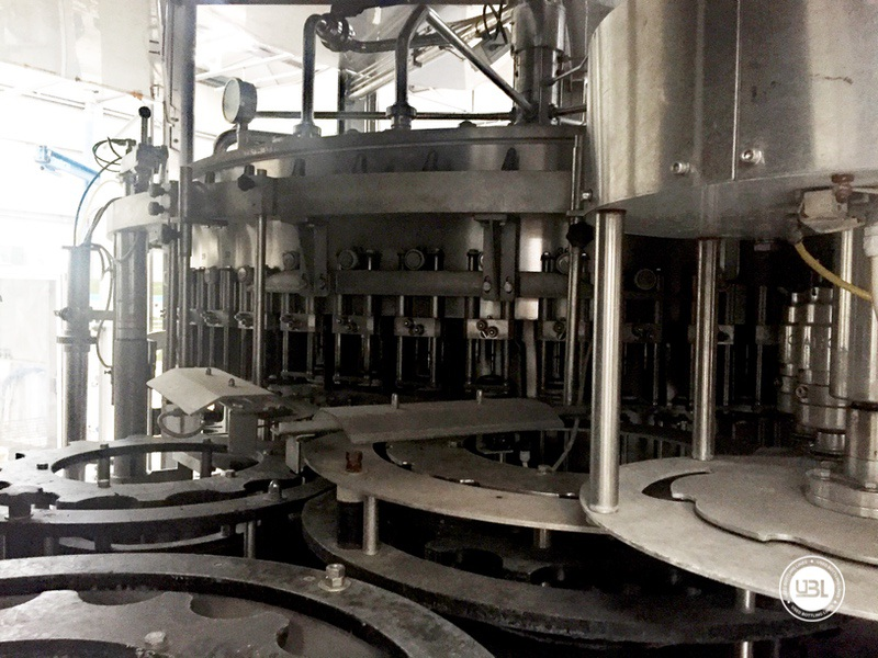 Used Bottling Isobaric Filling Triblock BC MASTERBLOCK 42-50-10 PET Glass up to 7000 bph - 8
