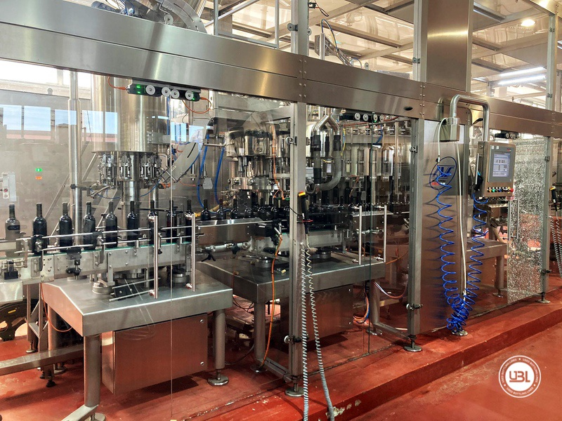 Used Bottling Isobaric Filling Triblock AVE Technologies ISO EP 48-64-12SF-8VA-6G 12.000 bph year 2018 - 9