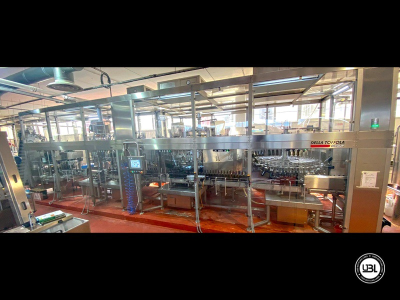Used Bottling Isobaric Filling Triblock AVE Technologies ISO EP 48-64-12SF-8VA-6G 12.000 bph year 2018 - 13