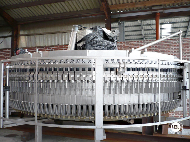 Used Isobaric Filling Monoblock KHS Innofill-ER VF 143/20 143 valves Soft Drinks Glass Bottles 45.000 bph - 1