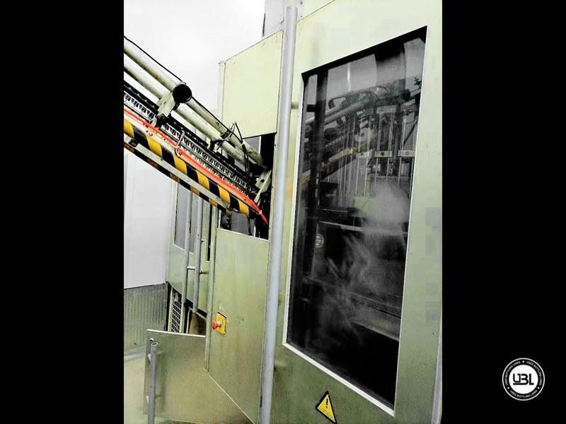 Linha de engarrafamento Sidel usada completa para água sem gás com velocidade de 25.000 bh - 2