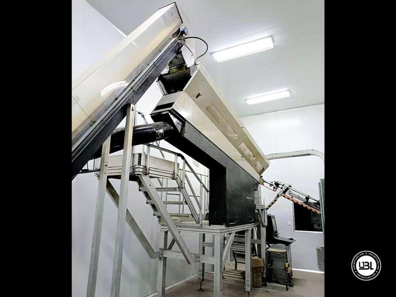 Linha de engarrafamento Sidel usada completa para água sem gás com velocidade de 25.000 bh - 5
