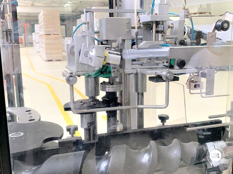 Used automatic capsuling machine Nortan Prisma 4T thermo shrink capsule up to 6000 bph - 2