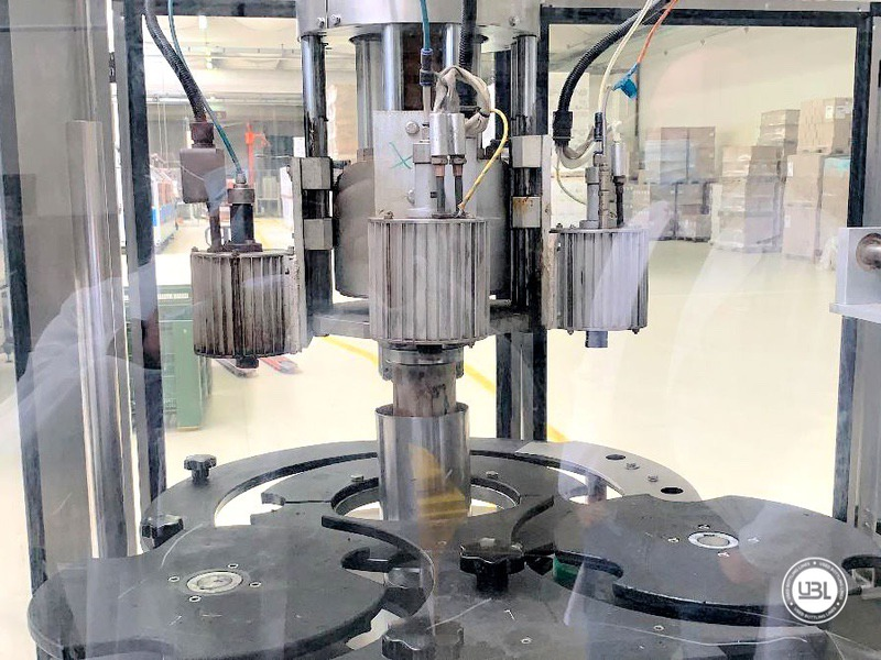 Used automatic capsuling machine Nortan Prisma 4T thermo shrink capsule up to 6000 bph - 3