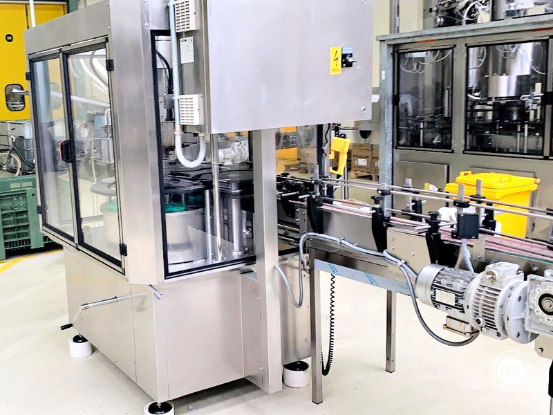 Used automatic capsuling machine Nortan Prisma 4T thermo shrink capsule up to 6000 bph - 5