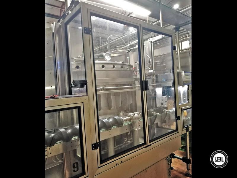 Riempitrice isobarica automatica usata Bertolaso modello Suprema 32 valvole per spumante - 1