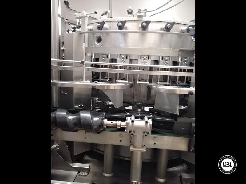Riempitrice isobarica automatica usata Bertolaso modello Suprema 32 valvole per spumante - 3