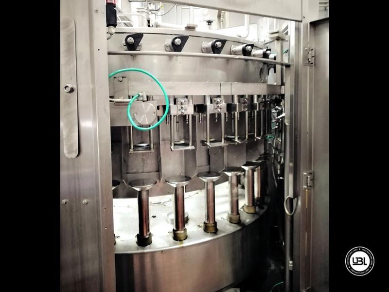 Riempitrice isobarica automatica usata Bertolaso modello Suprema 32 valvole per spumante - 4