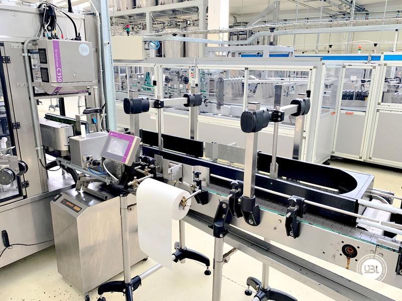 Etiquetadora automática rotativa usada P.E. Etiquetadoras modelo Universal Master 6000 bph año 2006 - 6