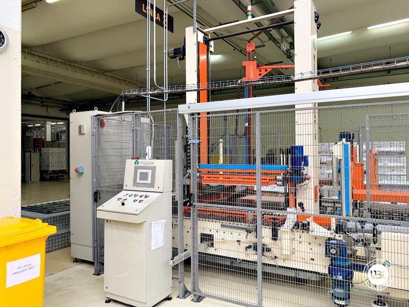 Pallettizzatore usato per bottiglie in vetro Virmauri Hercules A70 - 4