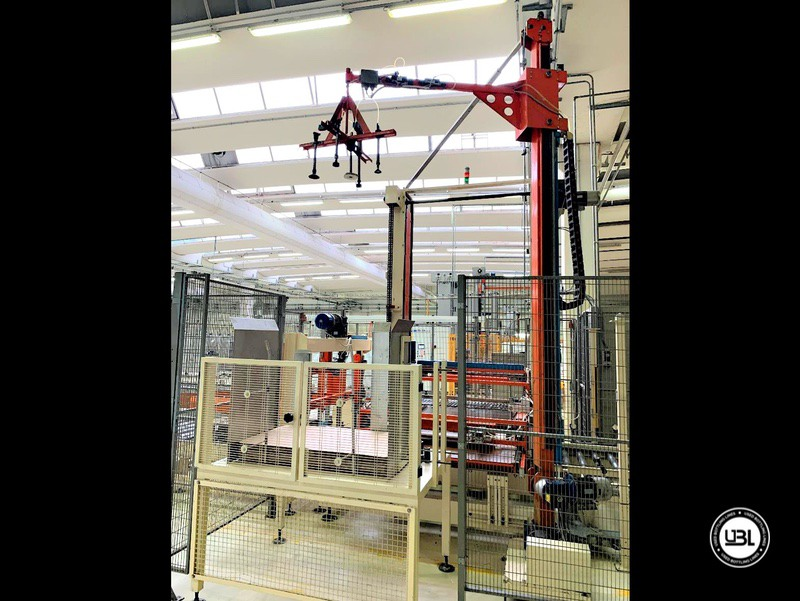 Pallettizzatore usato per bottiglie in vetro Virmauri Hercules A70 - 5
